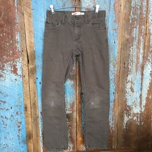 Boys Levi's 511 Gray Jeans